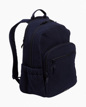 Load image into Gallery viewer, Classic Navy Microfiber-Campus Backpack