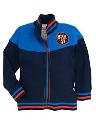 Hatley-Mock Neck Space Cadet Jacket-Full Zip