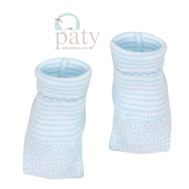 Paty Booties Blue