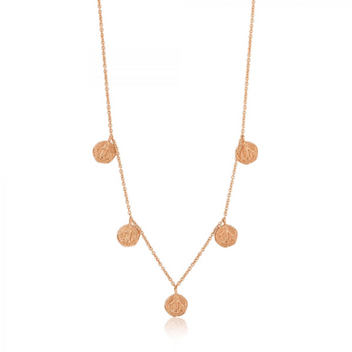 Deus Necklace-Rose Gold