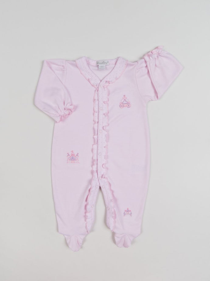 Kissy Kissy-Baby Girls Footie w/Ruffles-Make Believe