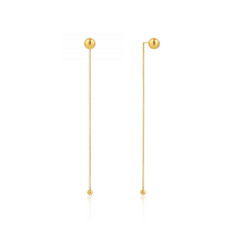 Load image into Gallery viewer, Orbit Drop Earrings-Gold