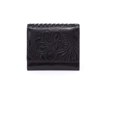 Stitch Wallet-Black
