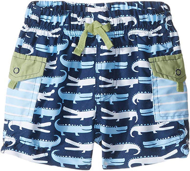 Mud Pie-Boys Gator Swim Trunks
