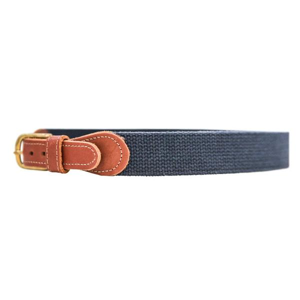 J Bailey-Buddy Belt-Navy Canvas
