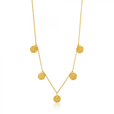 Deus Necklace-Gold