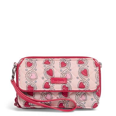 Stitched Heart Vines-Iconic RFID All in One Crossbody