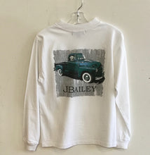 Load image into Gallery viewer, J Bailey-L/S Logo T-Shirt-Vintage Truck on White