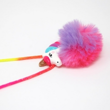 Load image into Gallery viewer, Unicorn Pom Pom Necklace