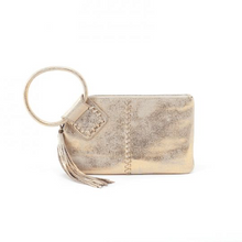Load image into Gallery viewer, SABLE Wristlet-Distressed Gold *Limited Edition