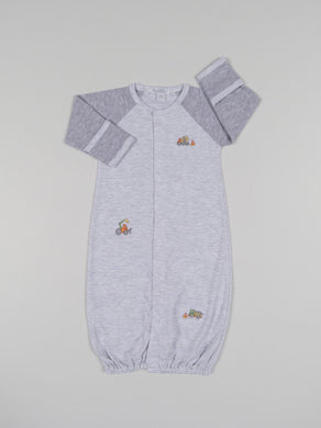 Kissy Kissy-Baby Boys Convertible Gown-Dig It