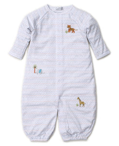 Kissy Kissy-Baby Boys Convertible Gown-Jungle Junket