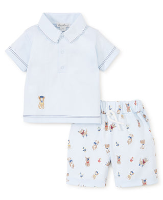 Kissy kissy-Baby Boys Short Set