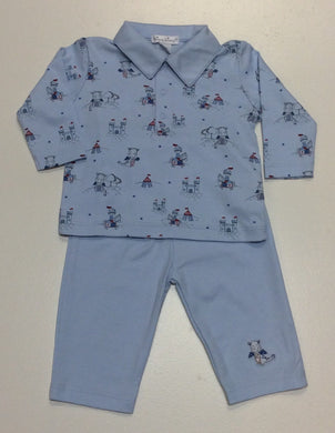 Kissy Kissy-Baby Boys Pant Set-Dragon's Den