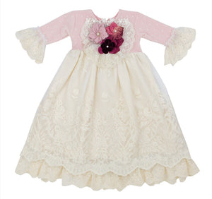 Haute Baby-Frilly Frocks Special Occasion Isabella Gown (Take-Me-Home)