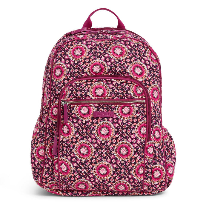 Raspberry Medallion-Iconic Campus Backpack