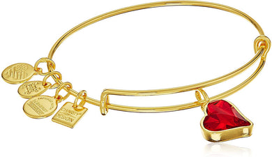 Heart of Strength Bangle-Gold