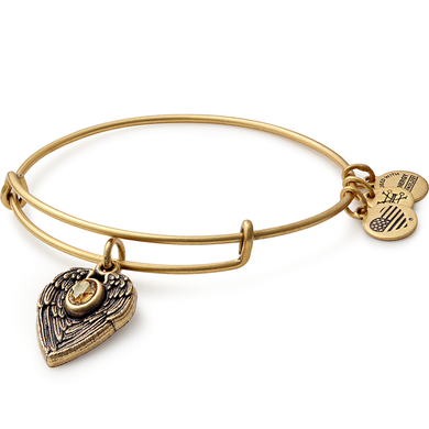 Guardian Angel Bangle-Gold