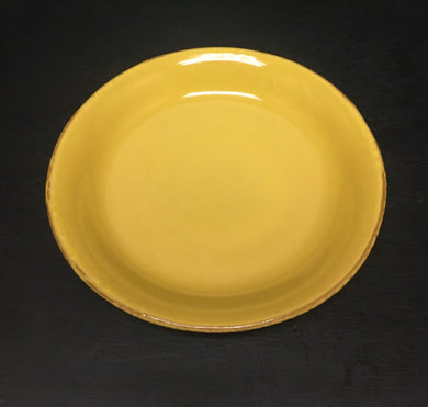 Fantasia Yellow-Salad Plate