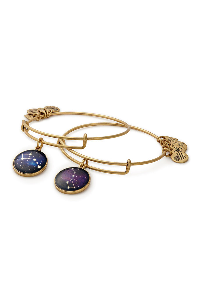 Big and Little Dipper Bangle Set-Gold