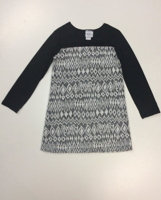 Maggie Breen-Knit Furry Dress-Chinchilla