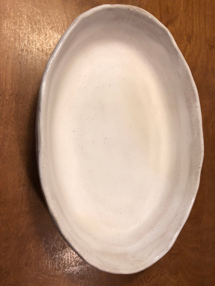 Simply White-Oval Baking Dish