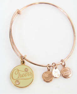 Cheers Bangle-Rose Gold