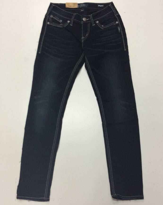 Silver Jeans-Suki Mid Rise Skinny Jeans
