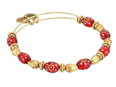 Radiance Bangle-Crimson