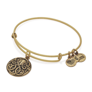 Path of Life III Bangle-Gold
