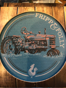 Fripp&Folly Coaster Tractor (set of 4)