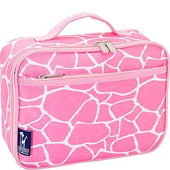 Lunch Box-Pink Giraffe