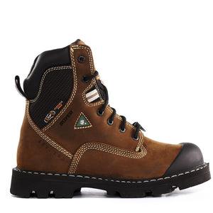 Royer 10-8520 Safety Boots Brown Work Boots - Coordinator's Shop