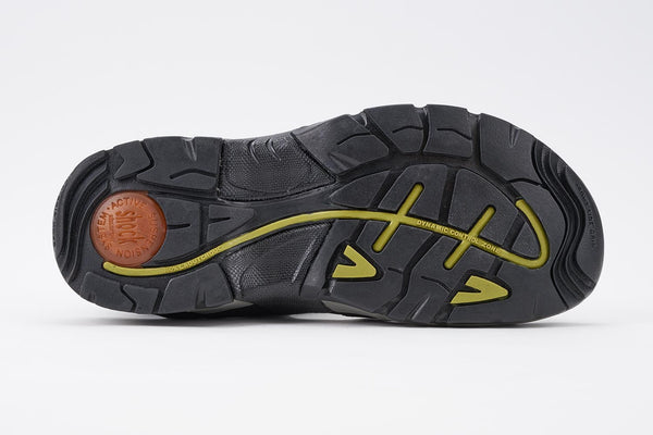Allrounder ALLIGATOR Black by Mephisto Sandal for Man - Shop of the Shoemaker