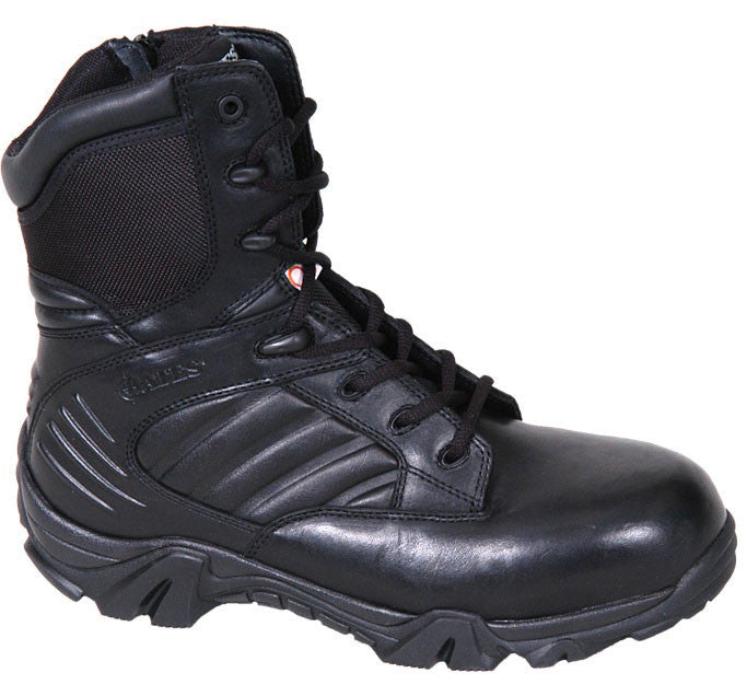 Bates E02274 GX 8 CSA COMPOSITE TOE SIDE ZIP BOOT Uniform Safety Boots