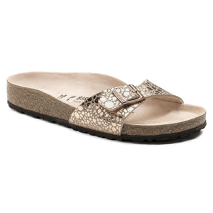 Birkenstock Madrid 1006693 Metallic Stones Copper Largeur Étroite - Boutique du Cordonnier
