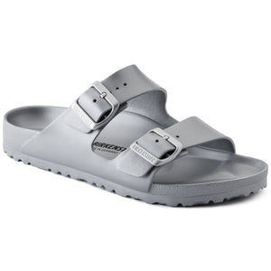 Narrow BIRKENSTOCK ARIZONA EVA 1003491 METALLIC SILVER - Boutique of the Shoemaker