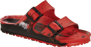 Birkenstock ARIZONA EVA 1019083 Multi Color Red/Black/White Regular - Boutique du Cordonnier