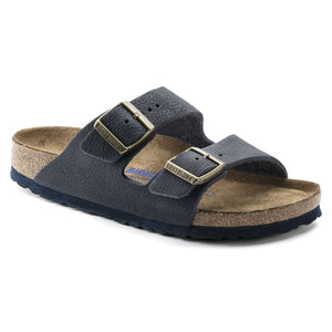 Birkenstock Arizona SOFT 1008925 Steer Indigo Leather Width Regular - Shop of the Shoemaker