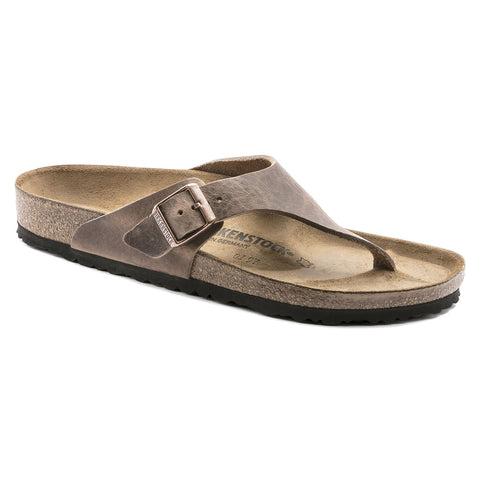 Birkenstock COMO 1016827 Camberra Old Tobacco Oiled Leather Largeur Régulière - Boutique du Cordonnier