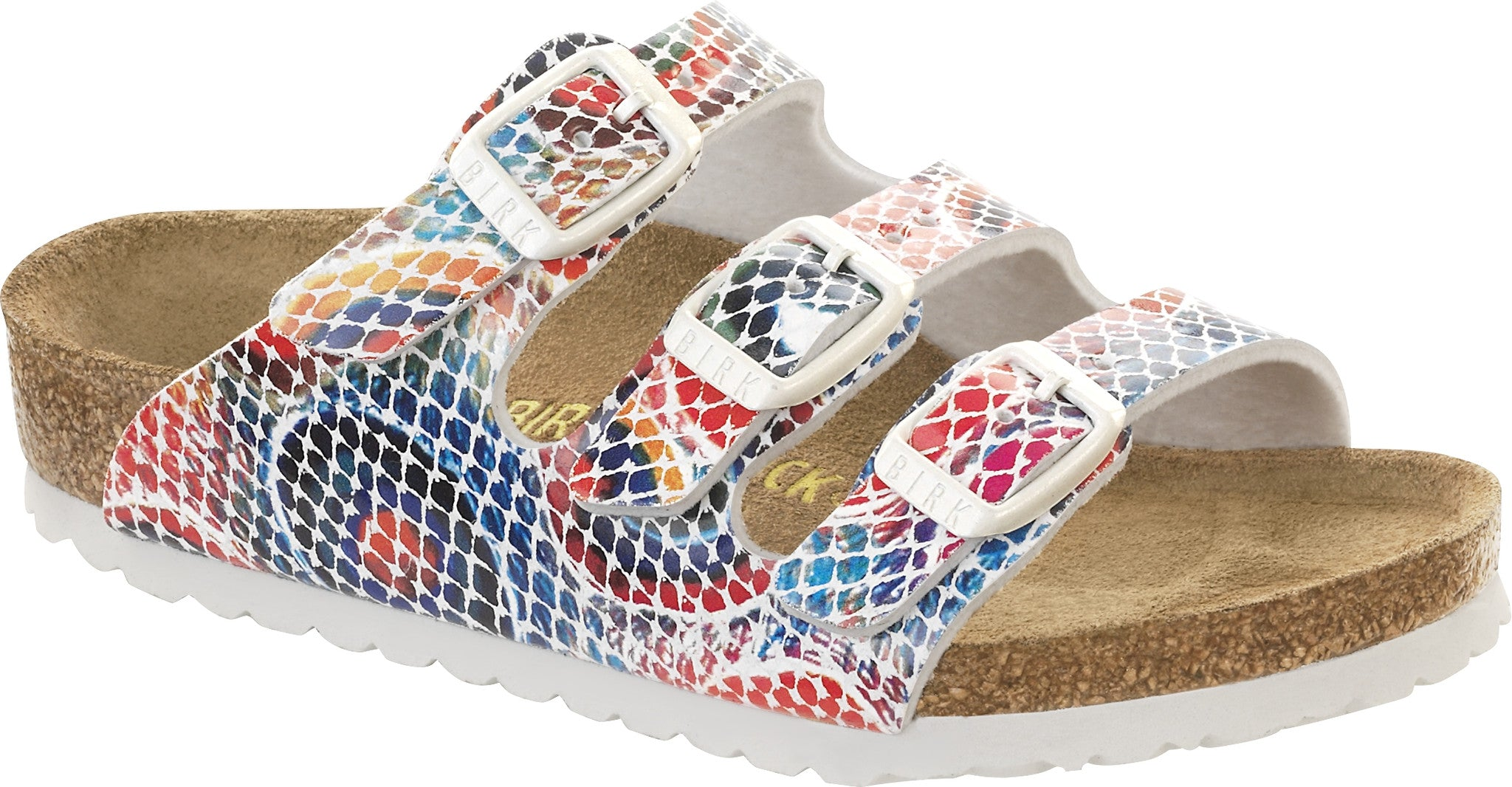 Birkenstock FLORIDA 355513 Peacock Feathers BF