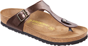 Birkenstock Gizeh 845221 Graceful Toffee Largeur Régulier