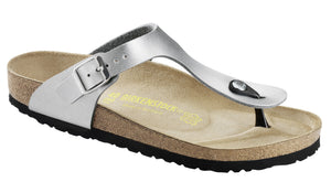 Birkenstock Gizeh Kids 846151 Silver Sandals for FINAL width - Coordinator Shop
