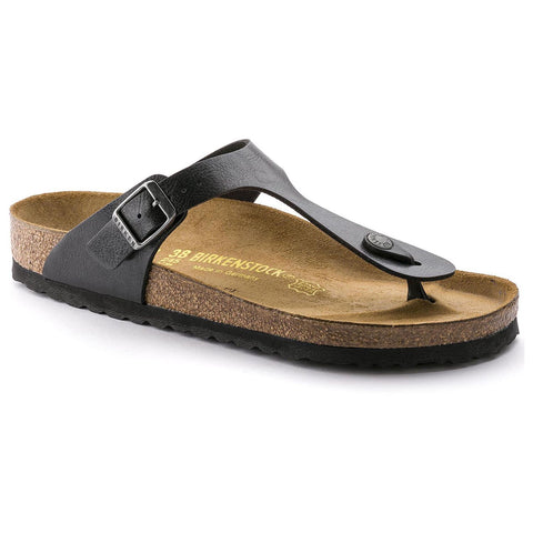 Birkenstock GIZEH 541951 Graceful Licorice Birko-Flor Regular Width - Boutique du Cordonnier