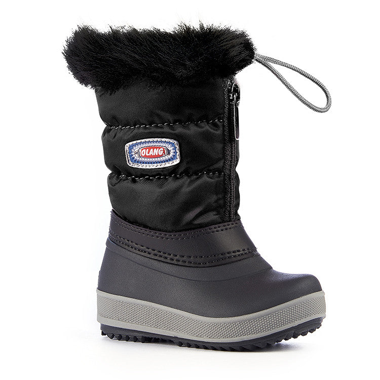 Olang KELLY NERO Bottes Hivers pour Enfants - Winter Boots for Kids - Boutique du Cordonnier