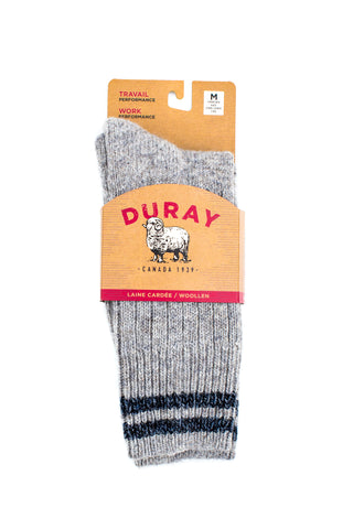 Duray Wool Socks ROBUSTE Work / Performance - Boutique du Cordonnier