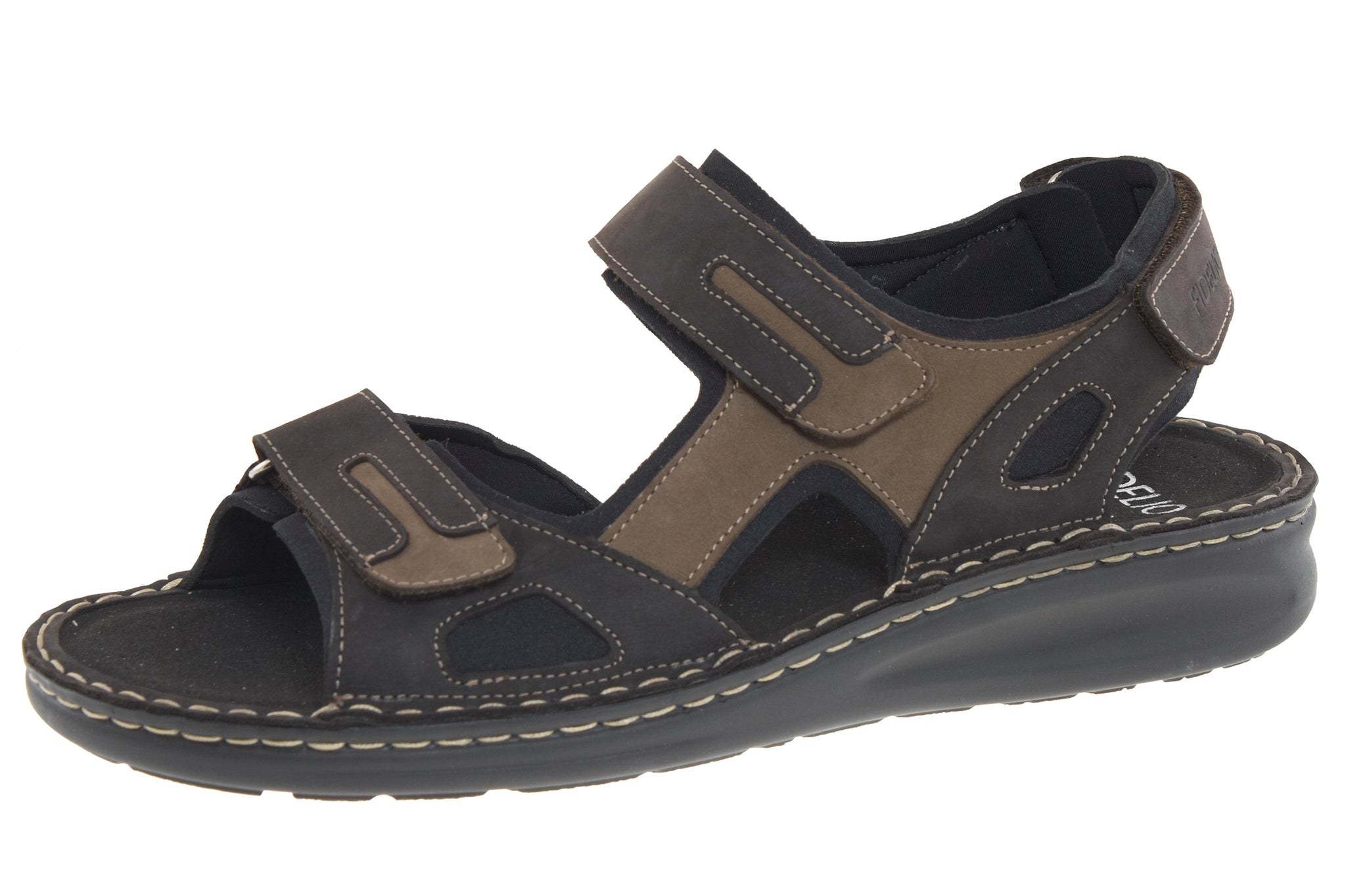 Fidelio 366028-14 Brown Men's Walking Sandal with removable sole - Coordinator's Shop