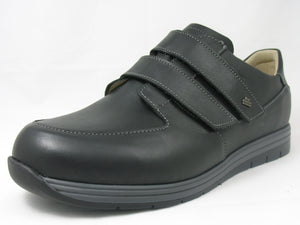 Finn Comfort Nasca 1401-062099 Trento Black Orthopedic Shoe with Removable Sole for Men - Boutique du Cordonnier