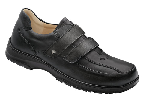 Finn Comfort HANNOVER 1196-060099 Black Orthopedic Shoe with Removable Sole for Men - Boutique du Cordonnier