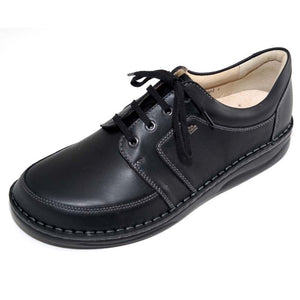 Finn Comfort Norwich 1111-060099 Black Montana Orthopedic Shoe with Removable Sole for Men - Boutique du Cordonnier